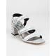 CIRCUS BY SAM EDELMAN Fisher Womens White & Black Heels