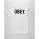 OBEY Official Mens White T-Shirt