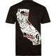 METAL MULISHA CA State Mens T-Shirt