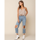 FREE PEOPLE Maggie Straight Leg Womens Jeans