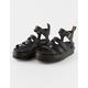DR. MARTENS Blaire Womens Black Platform Sandals