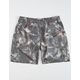 CAPTAIN FIN Lounge Lizard Mens Charcoal Volley Shorts
