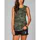 FULL TILT Camo Womens Twist Back Tank