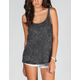 FULL TILT Mineral Wash Womens Muscle Tank