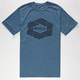 RVCA Bar Hex Mens T-Shirt