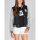 FULL TILT Womens Hooded Varsity Jacket