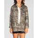HIPPIE LAUNDRY Camo Womens Anorak Jacket