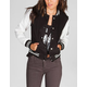 FULL TILT Twill Womens Varsity Jacket