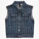 FULL TILT Studded Girls Denim Vest
