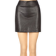 BEBOP Faux Leather Effect Womens Skirt