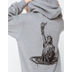 OBEY Drowning Womens Hoodie