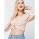 COTTON CANDY LA Cinched Womens Top