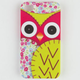 Floral Owl iPhone 4/4S Case