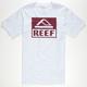 REEF Square Block Mens T-Shirt