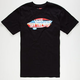 VANS Sunset Stripe Mens T-Shirt