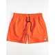 VOLCOM Lido Solid Mens Red Volley Shorts