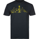 CASUAL INDUSTREES Seattle Lights Mens T-Shirt