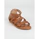 OLIVIA MILLER Star Girls Gladiator Sandals