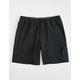 HOLLYWOOD Ultimate Mens Black Compression Lined Hybrid Shorts