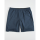 HOLLYWOOD Ultimate Mens Navy Compression Lined Hybrid Shorts