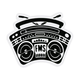FAMOUS Stars & Straps Boombox Sticker