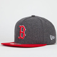 NEW ERA Classic Melt Red Sox Mens Strapback Hat