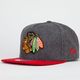 NEW ERA Classic Melt Blackhawks Mens Strapback Hat