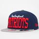 NEW ERA V Team Patriots Mens Snapback Hat