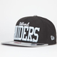 NEW ERA V Team Raiders Mens Snapback Hat