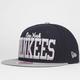 NEW ERA V Team Yankees Mens Snapback Hat