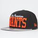 NEW ERA V Team Giants Mens Snapback Hat