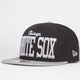 NEW ERA V Team White Sox Mens Snapback Hat