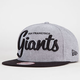 NEW ERA Giants Retro Scholar Mens Snapback Hat