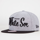 NEW ERA White Sox Retro Scholar Mens Snapback Hat