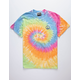 RIOT SOCIETY Peace Sign Embroidered Mens T-Shirt