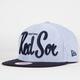 NEW ERA Red Sox Retro Scholar Mens Snapback Hat