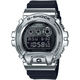 G-SHOCK GM6900-1 Black & Silver Watch