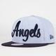 NEW ERA Angels Retro Scholar Mens Snapback Hat