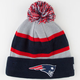 NEW ERA Patriots Sport Knit Beanie