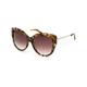 DIFF EYEWEAR Avery Sea Tortoise & Brown Gradient Sunglasses