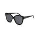 DIFF EYEWEAR Piper Black & Dark Smoke Polarized Sunglasses