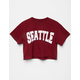 FULL TILT Seattle Womens Crop Tee