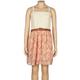 FULL TILT Floral Crochet Girls Dress