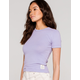 BDG Urban Outfitters Washed Womens Lilac Baby Tee