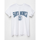 FULL TILT Santa Monica Womens Boyfriend Tee