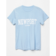 FULL TILT Newport Womens Boyfriend Tee