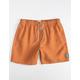 RIP CURL Bondi Pigment Mens Rust Volley Shorts