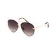 DIFF EYEWEAR Lenox Gold & Sea Tortoise Sunglasses