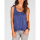 FULL TILT Mineral Wash Womens Tank