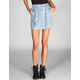 FULL TILT Womens Chambray Button Front Skirt